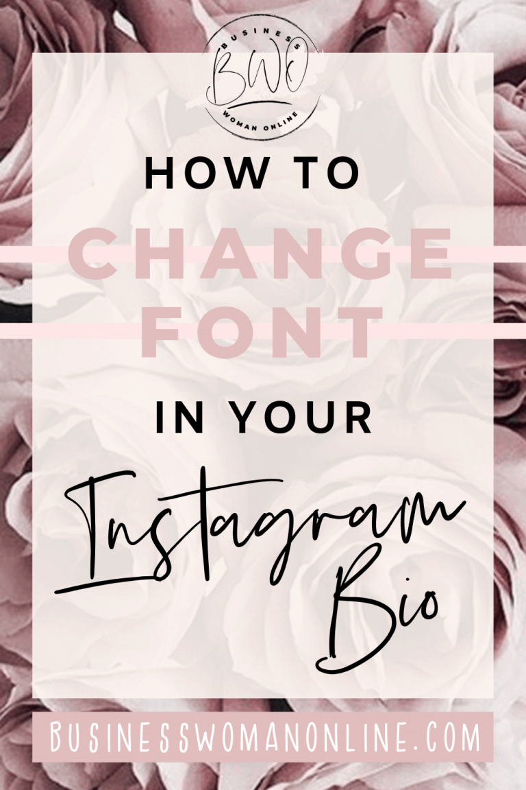 How to Change Font Instagram Bio and Captions