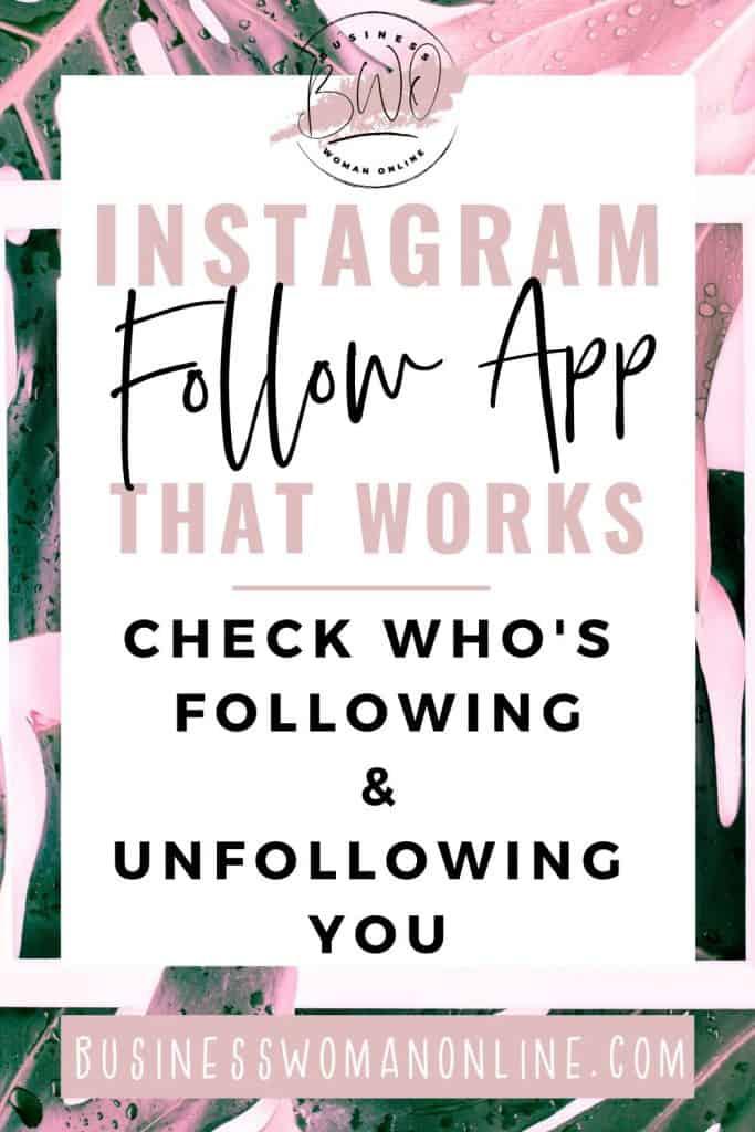 Instagram Follow App that works