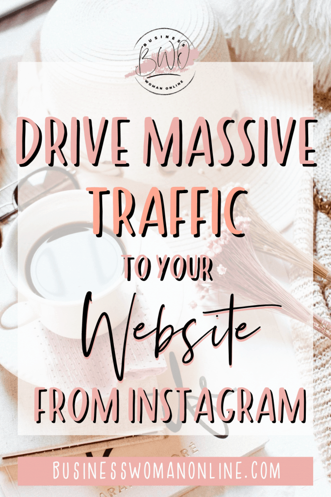 How to get more clicks on your Instagram link in bio and drive traffic to your website.