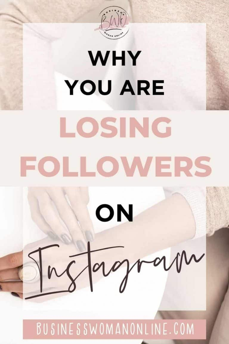 Why You are Losing Followers on Instagram