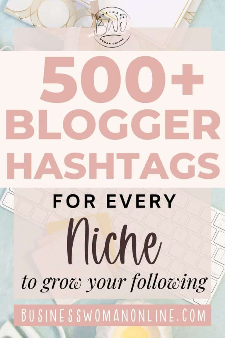 Blogger Hashtags: How to Use Hashtags on Instagram to Grow Your Following