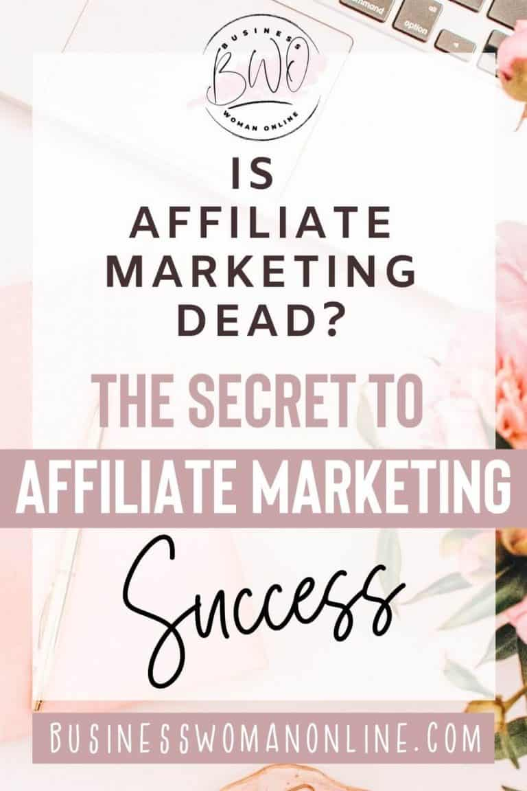 Is Affiliate Marketing Dead? Is Earning a Full-Time Income Possible?