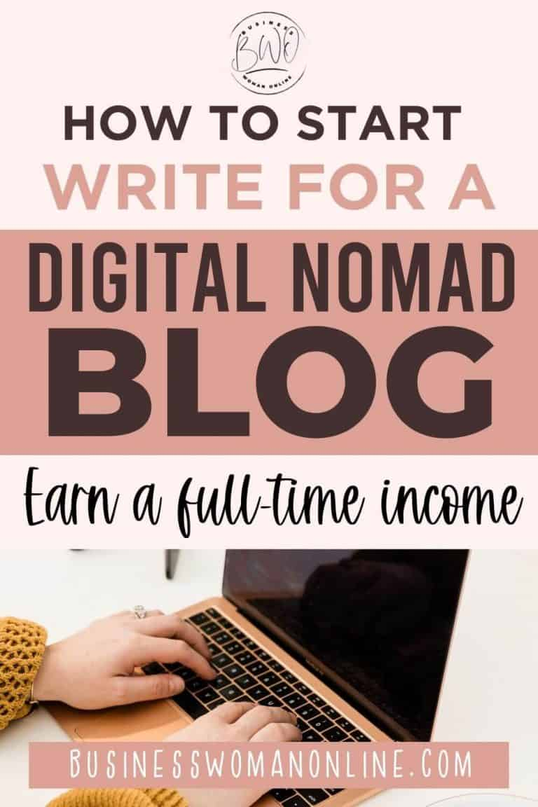 How to Start Write for a Digital Nomad Blog: The Ultimate Guide