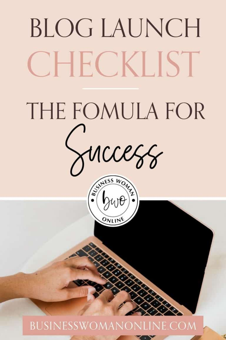 How To Start A Blog: The Ultimate Blog Launch Checklist